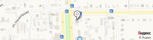 Кооп-Союз, ПО на карте Ишеевки
