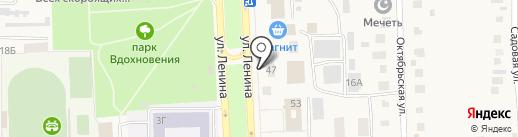 Отдел судебных приставов Ульяновского района на карте Ишеевки