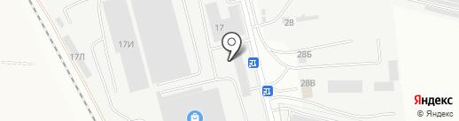 Авторазвилка на карте Ульяновска