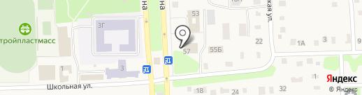 Прокуратура Ульяновского района на карте Ишеевки