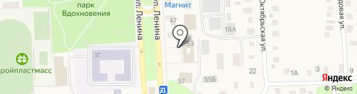 Отделение ГИБДД межрайонного отдела МВД России на карте Ишеевки