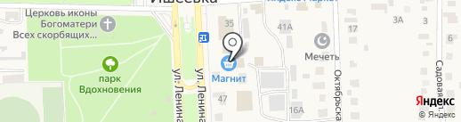Магнит на карте Ишеевки