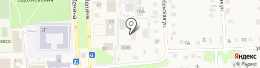 Межрайонная инспекция Федеральной налоговой службы России №2 по Ульяновской области на карте Ишеевки