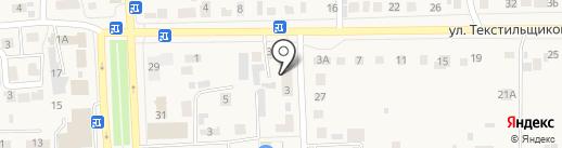 Почтовое отделение на карте Ишеевки