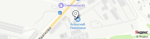 Дизельцентр на карте Ульяновска