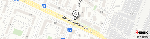 Альберо на карте Ульяновска