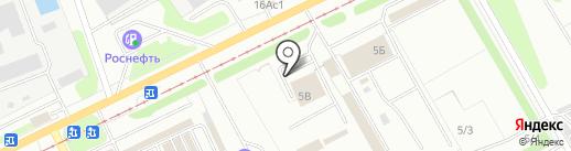 Китайский автомобильный дом на карте Ульяновска