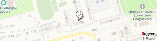 Элекс на карте Ишеевки
