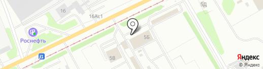 Дилав-сервис на карте Ульяновска