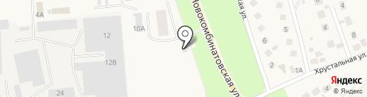 Продуктовый магазин на Новокомбинатовской на карте Ишеевки