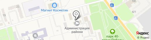 Родина Ильича на карте Ишеевки