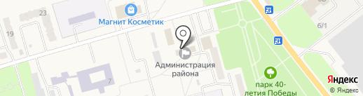 Администрация Ульяновского района на карте Ишеевки