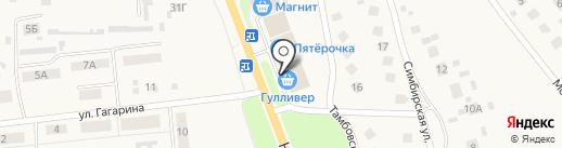 Супермаркет на карте Ишеевки