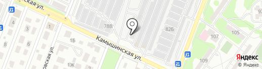 Авторемонтник на карте Ульяновска