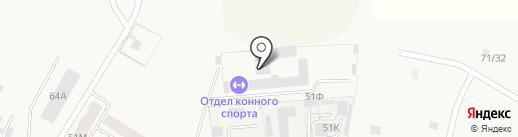 Детско-юношеская конноспортивная школа на карте Ишеевки