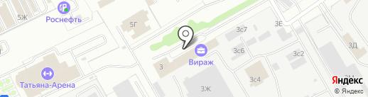 Бампер на карте Ульяновска