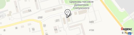 Континент на карте Ишеевки