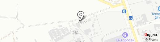 Автомойка на карте Ульяновска