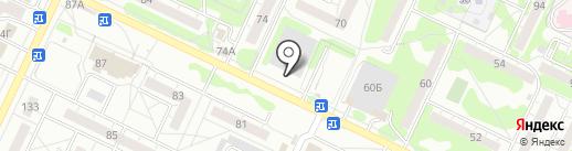 За рулем на карте Ульяновска