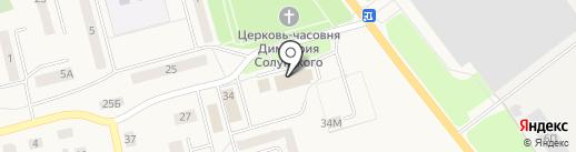 Семицветик на карте Ишеевки