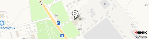 Управление механизации №1 на карте Ишеевки