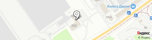 Раздолье на карте Ульяновска