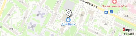 Хлебница на карте Ульяновска