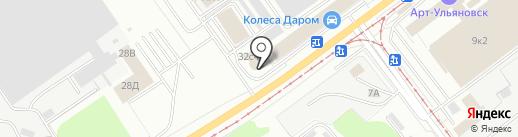Level Up на карте Ульяновска