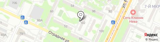 Служба реставрации ванн на карте Ульяновска