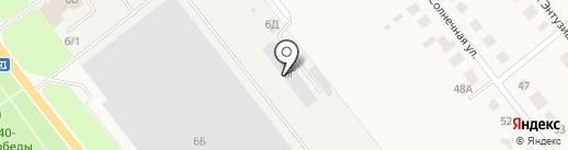 Автосервис на карте Ишеевки