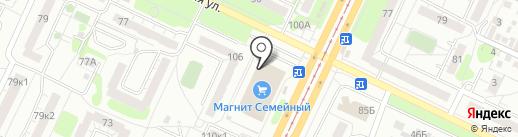 Сбербанк, ПАО на карте Ульяновска