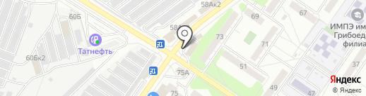 Автомасла на карте Ульяновска