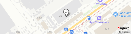 TazMonkey Garage на карте Ульяновска
