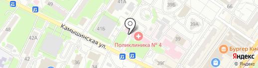Женская консультация на карте Ульяновска