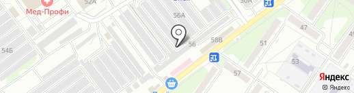 Инжектор на карте Ульяновска