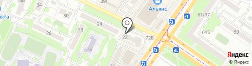 Адвокатский кабинет Мурсеевой С.Е. на карте Ульяновска