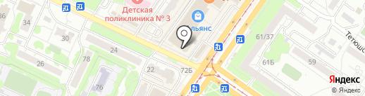ELIK на карте Ульяновска