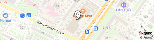 Соблазн на карте Ульяновска
