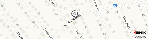 Продовольственный магазин на карте Ишеевки