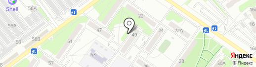 Военно-похоронная компания на карте Ульяновска
