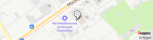 Универсальные машины на карте Ульяновска