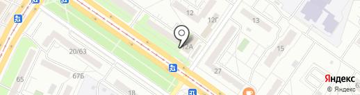 Магазин спортивной одежды на карте Ульяновска