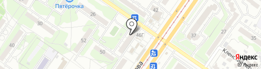Банкомат, Банк ВТБ 24, ПАО на карте Ульяновска