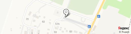 AutoHelp73 на карте Ульяновска