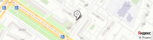 Изба на Самарской на карте Ульяновска