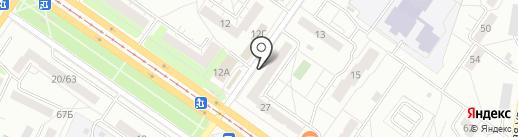 Анна на карте Ульяновска