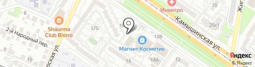 Магазин подарков и сувениров на карте Ульяновска