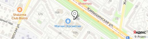 Пекарня №1 на карте Ульяновска