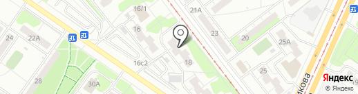 Альфаком на карте Ульяновска