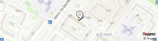 Магазин полуфабрикатов на карте Ульяновска